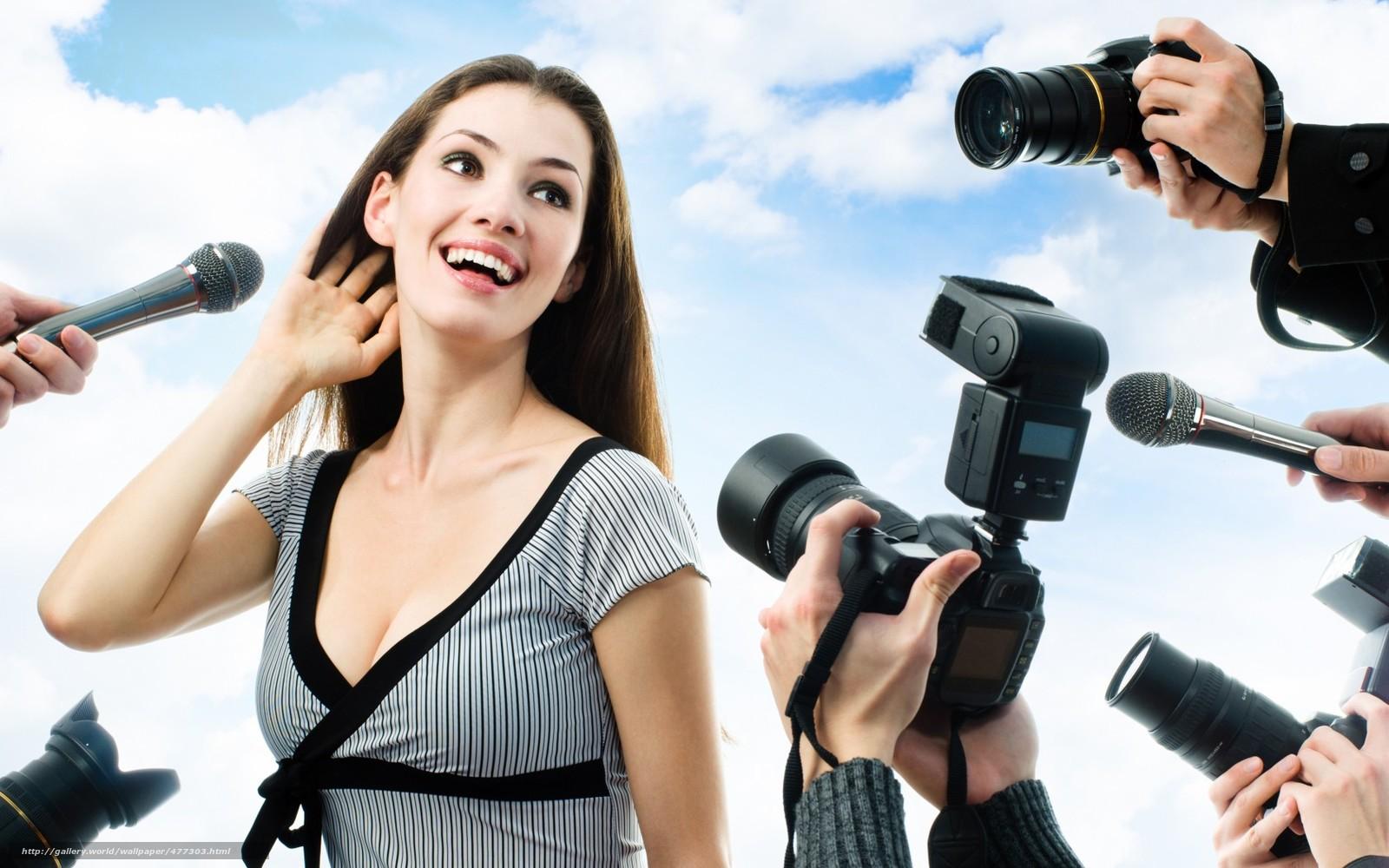 Девушка фотоаппарат send message