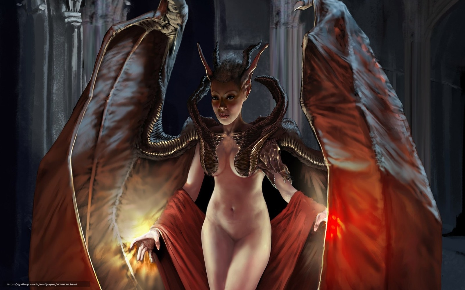 Naked demon girl xxx picture
