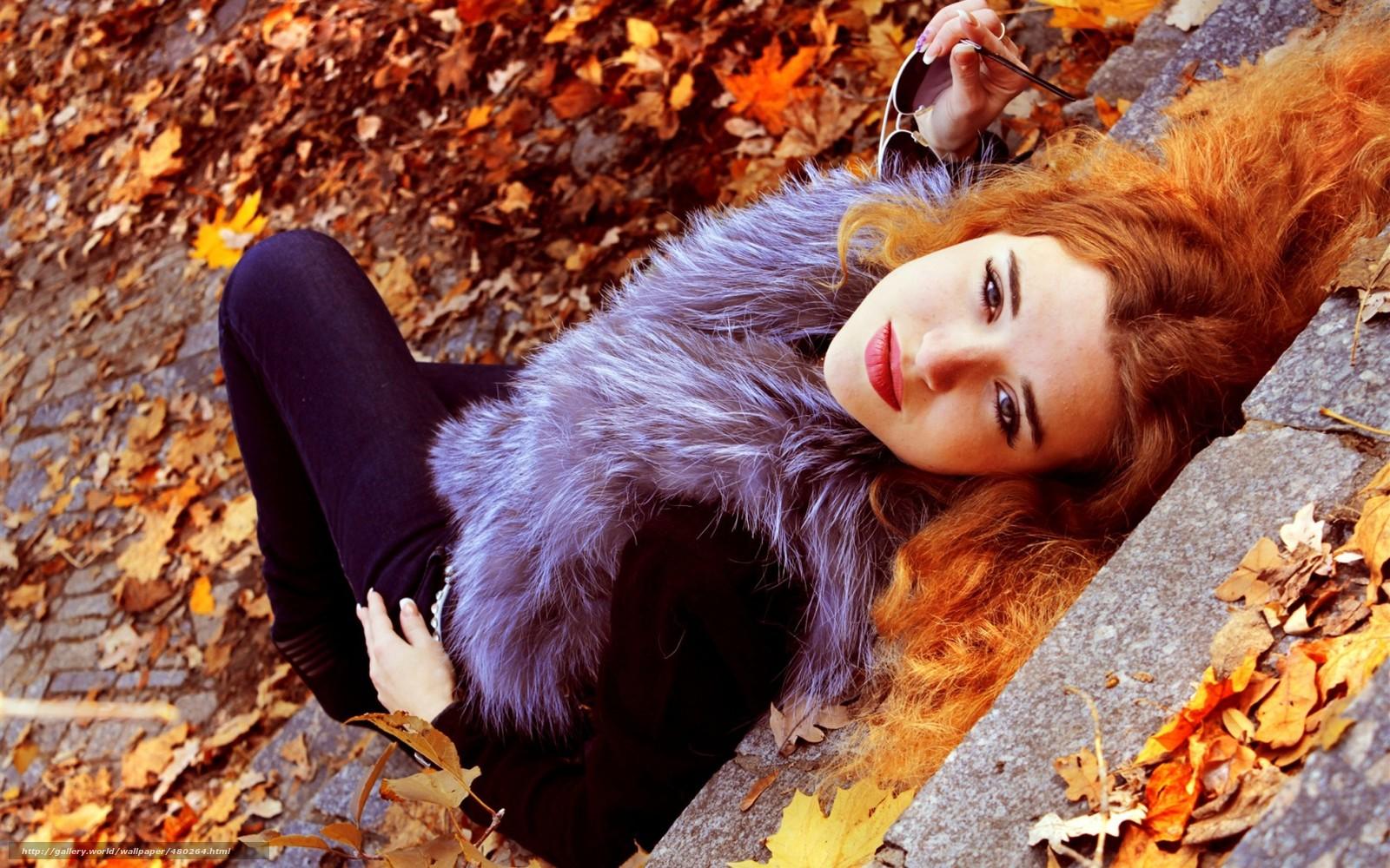 Фото девушек с рыжими волосами 1 фотография