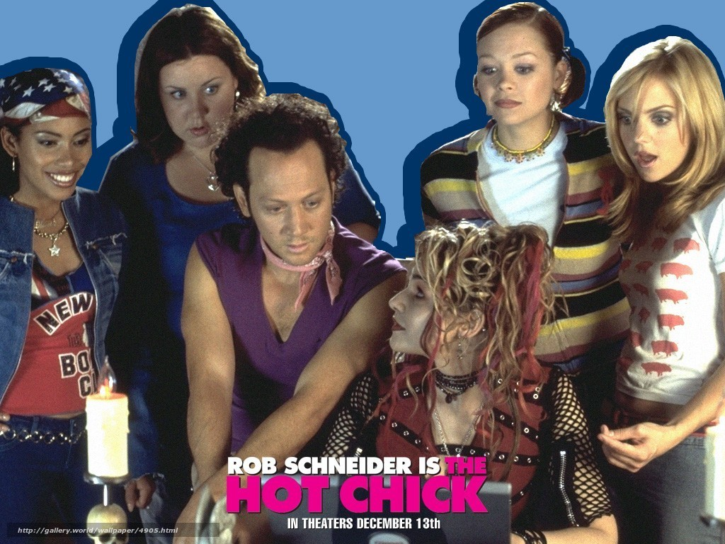 The hott chick movie script