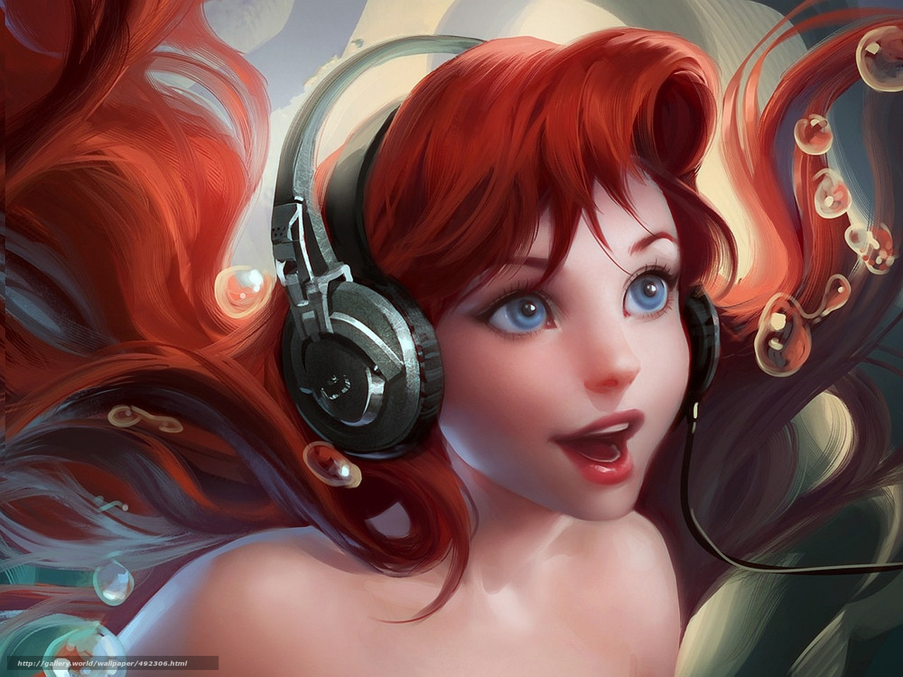 Фото девочка из мультика с красными волосами 17 фотография