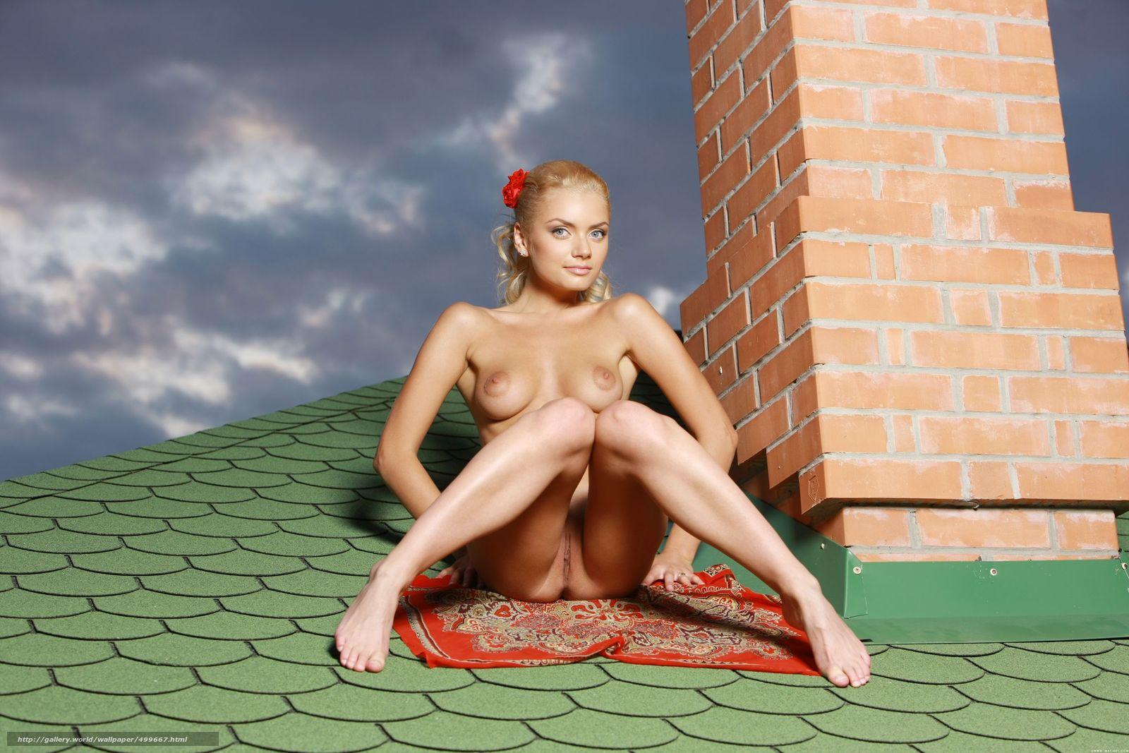 Посмотреть порнуху на крыше 9 фотография