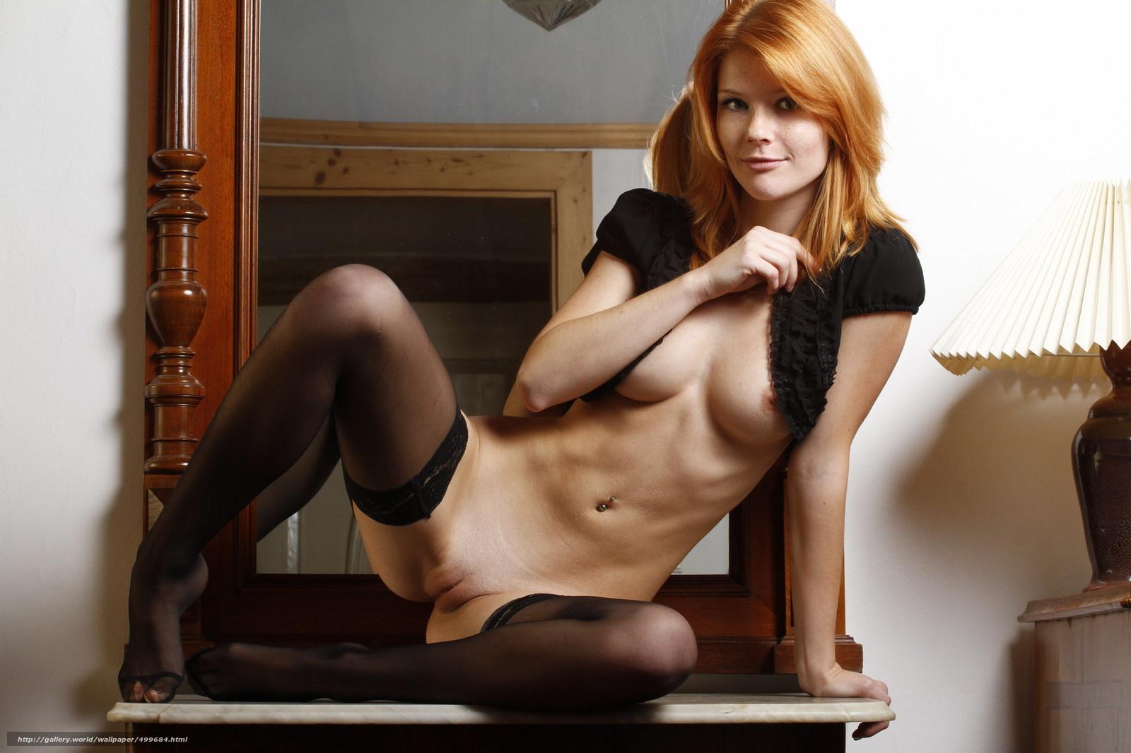 Рыжие небритые голые девушки 15 фотография