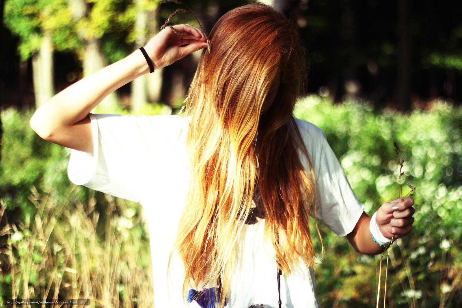 Фото девушек с рыжими и русыми волосами 5 фотография