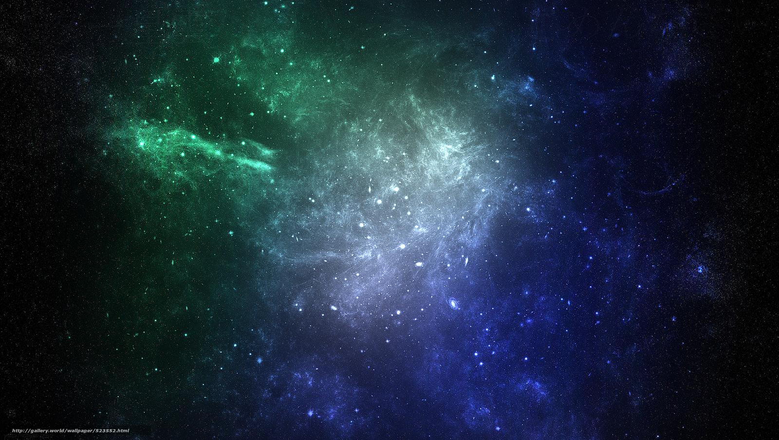 Космос арт туманность звезды