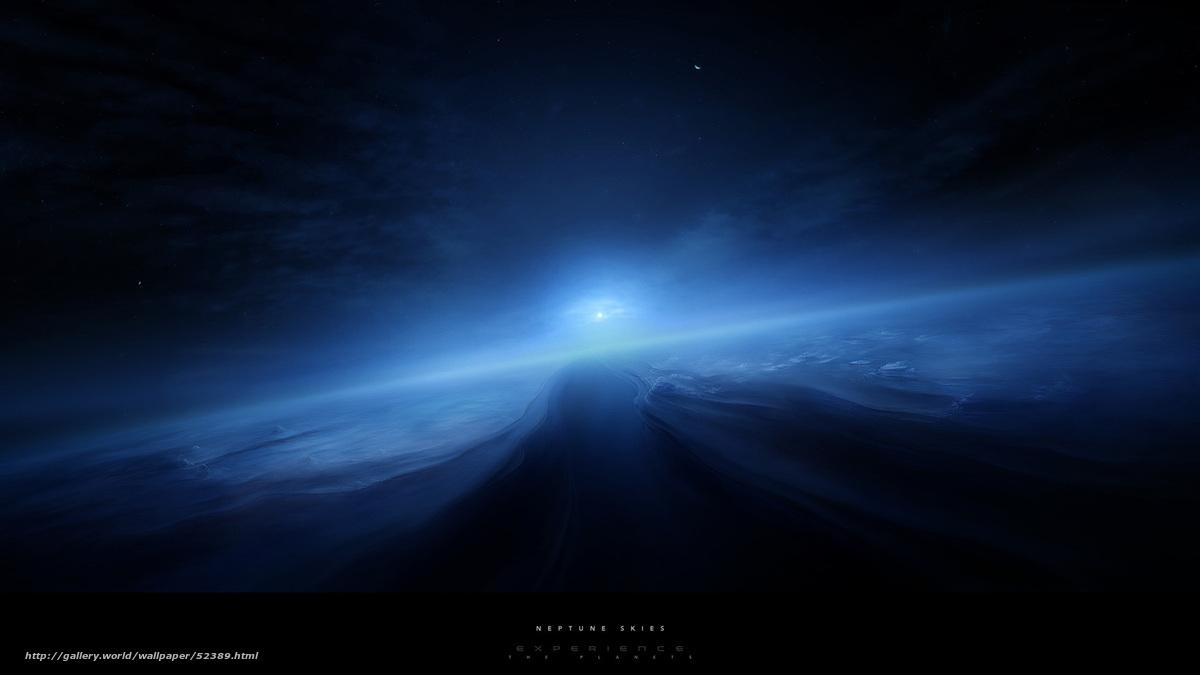 Нептун космос солнечная система