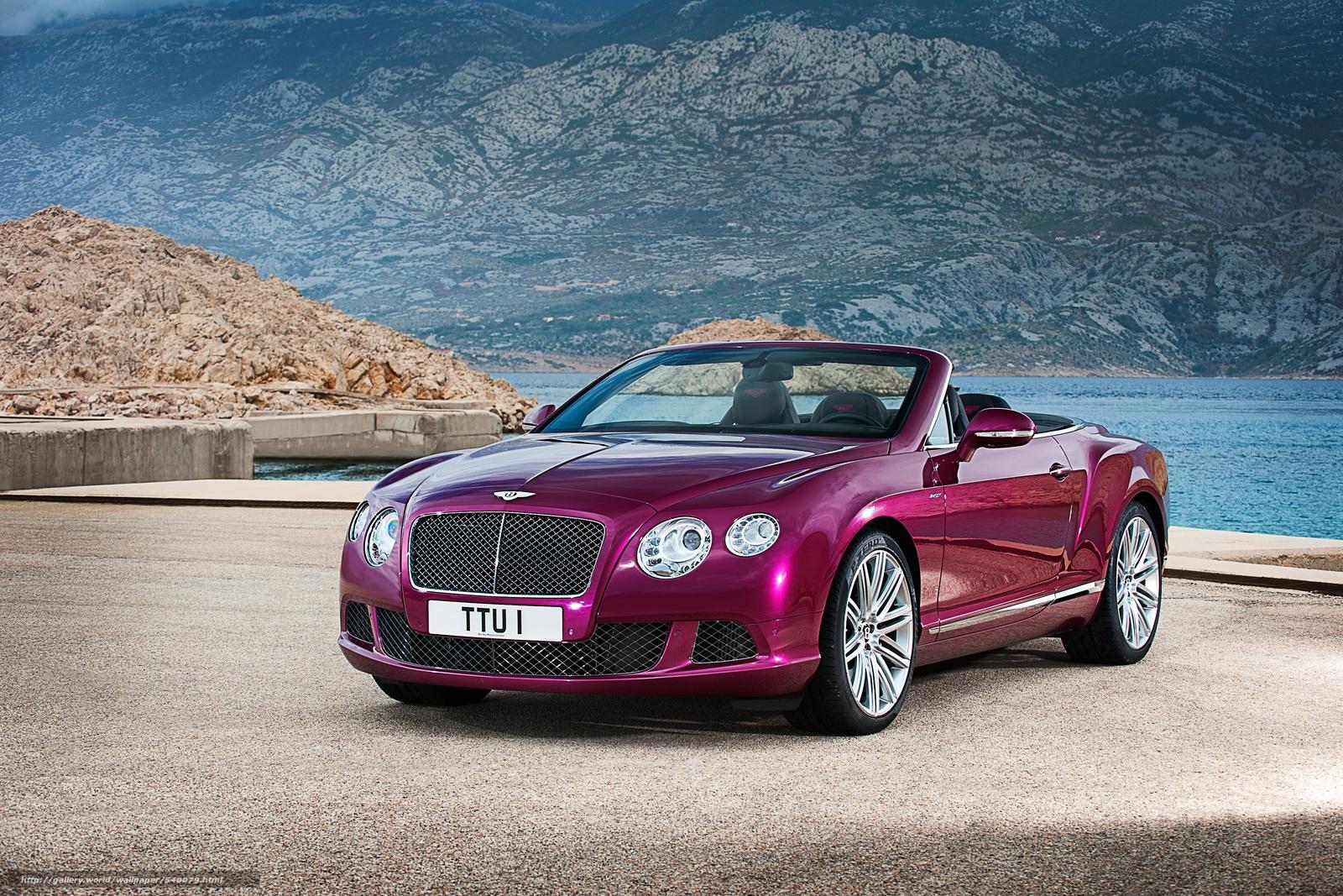 Bentley, Continental, GT, Speed, convertible, 2013