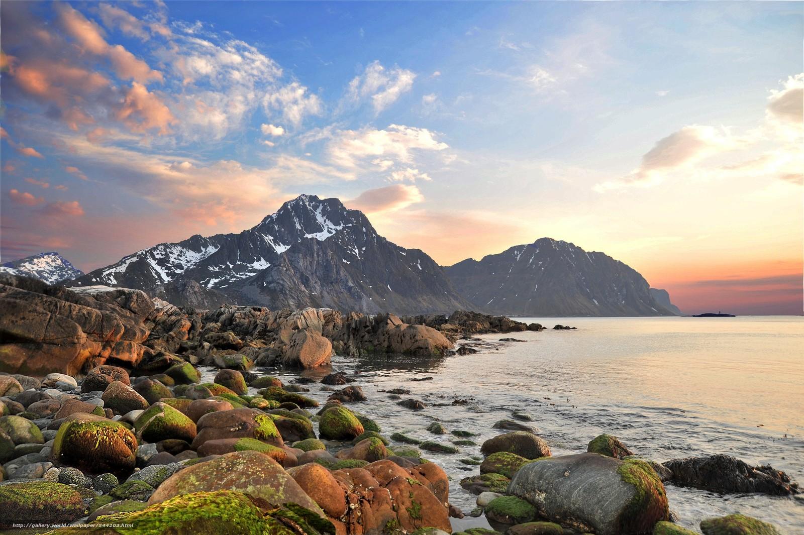 Theme: landscapes-mountains-sea-lakes