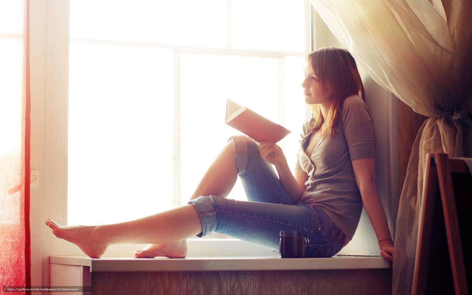 Девушка окно фото 5 фотография