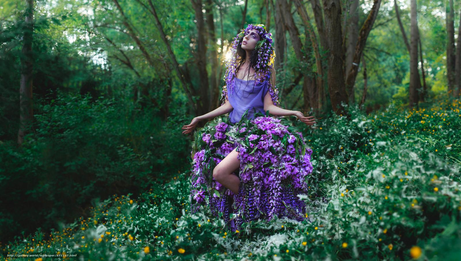 картинки цветы леса: