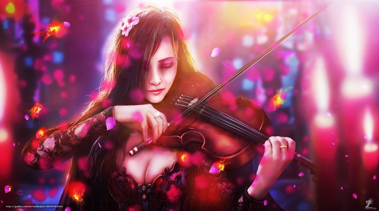 Транс со скрипкой