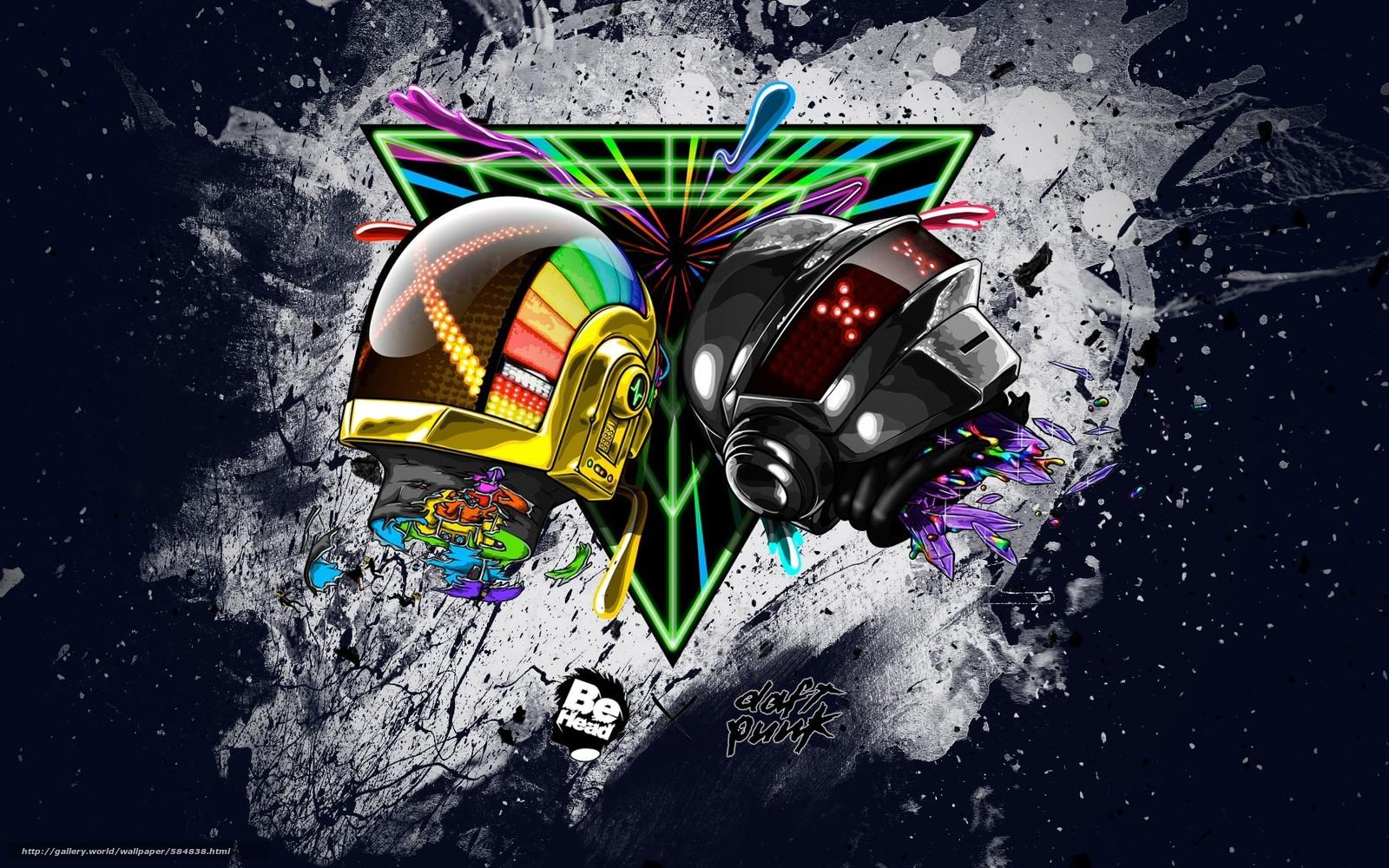 дафт панк, стиль, шлем