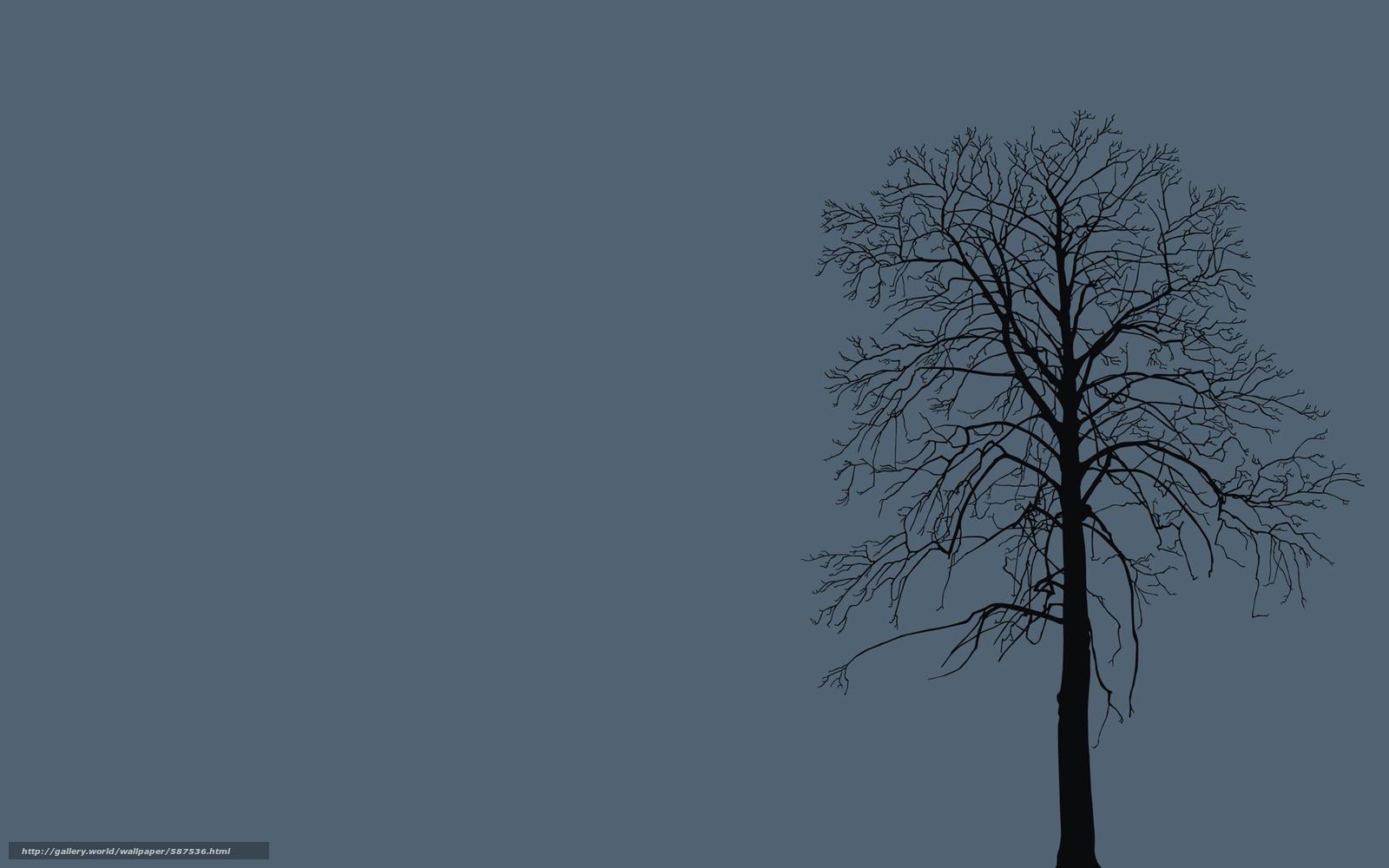 фон, дерево, ветки, природа