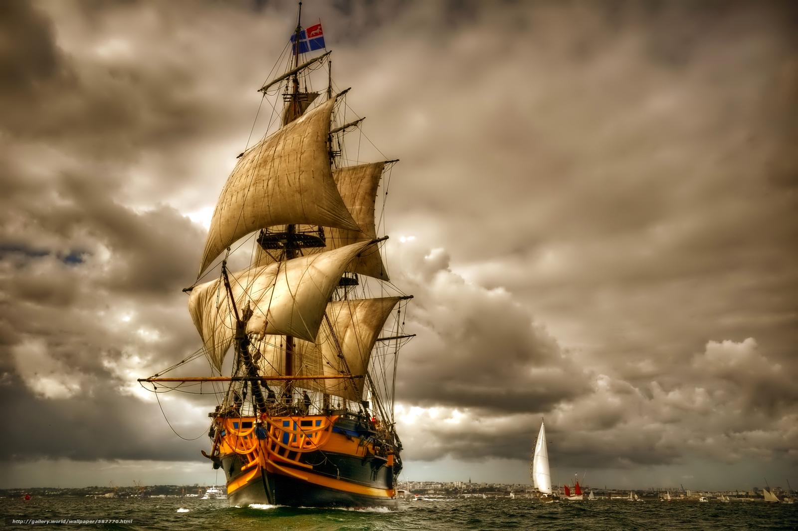 лодка на якоре за городом драконов