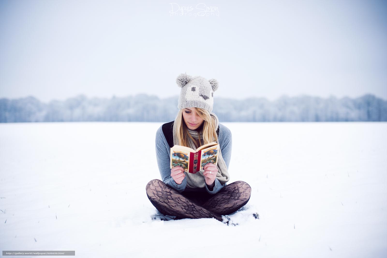 Фотографії блондинок і зима 3 фотография