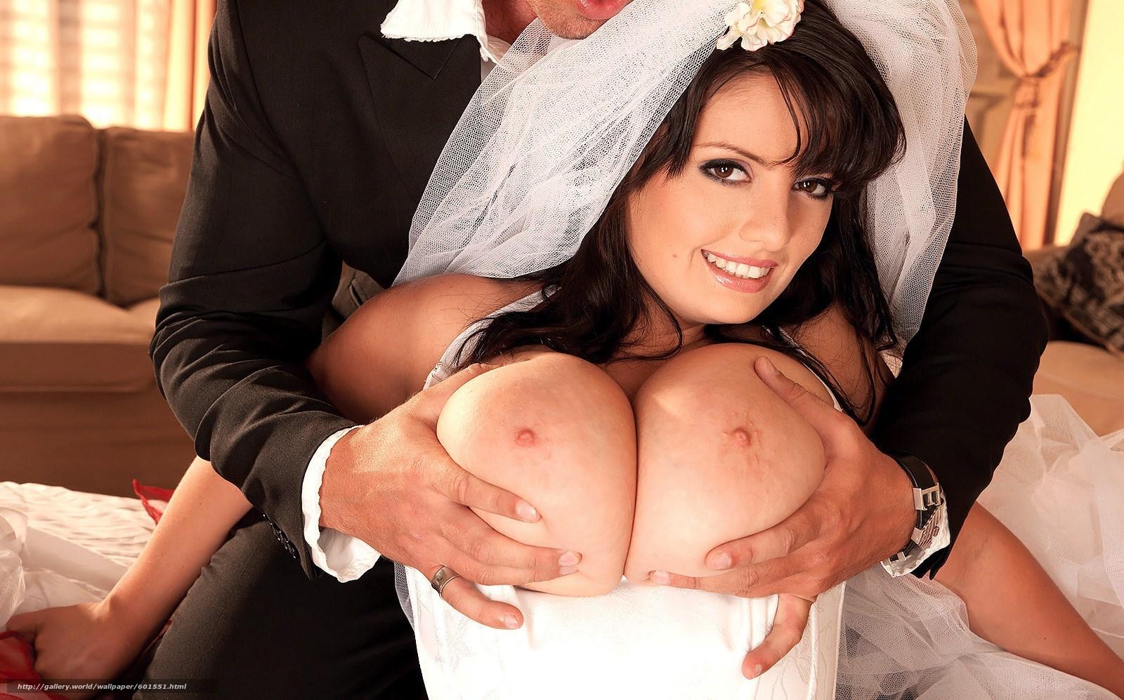 Секс с сисястой невестой 19 фотография