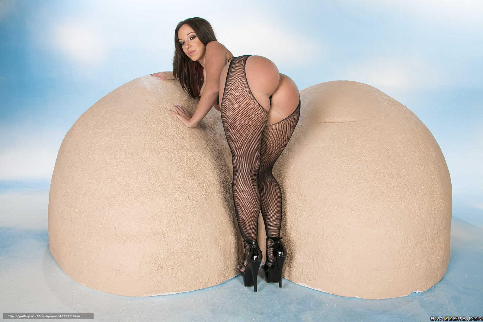 огромные женские попы и тугие голые задницы-ош2