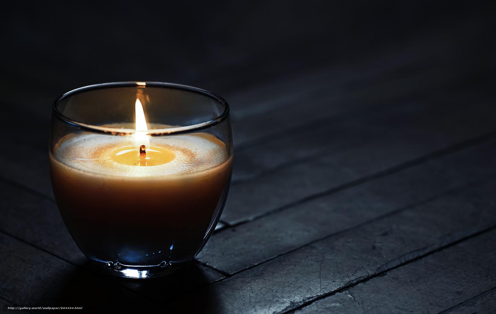 свеча, темнота, черный, серый, пламя, воск