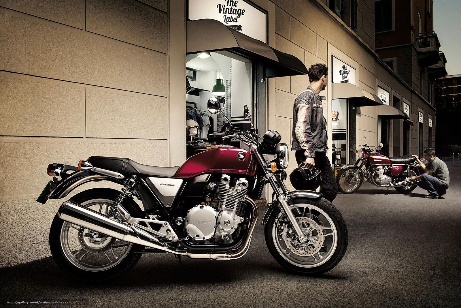 bike, Honda, профиль, CB1100A, Deluxue, ABS