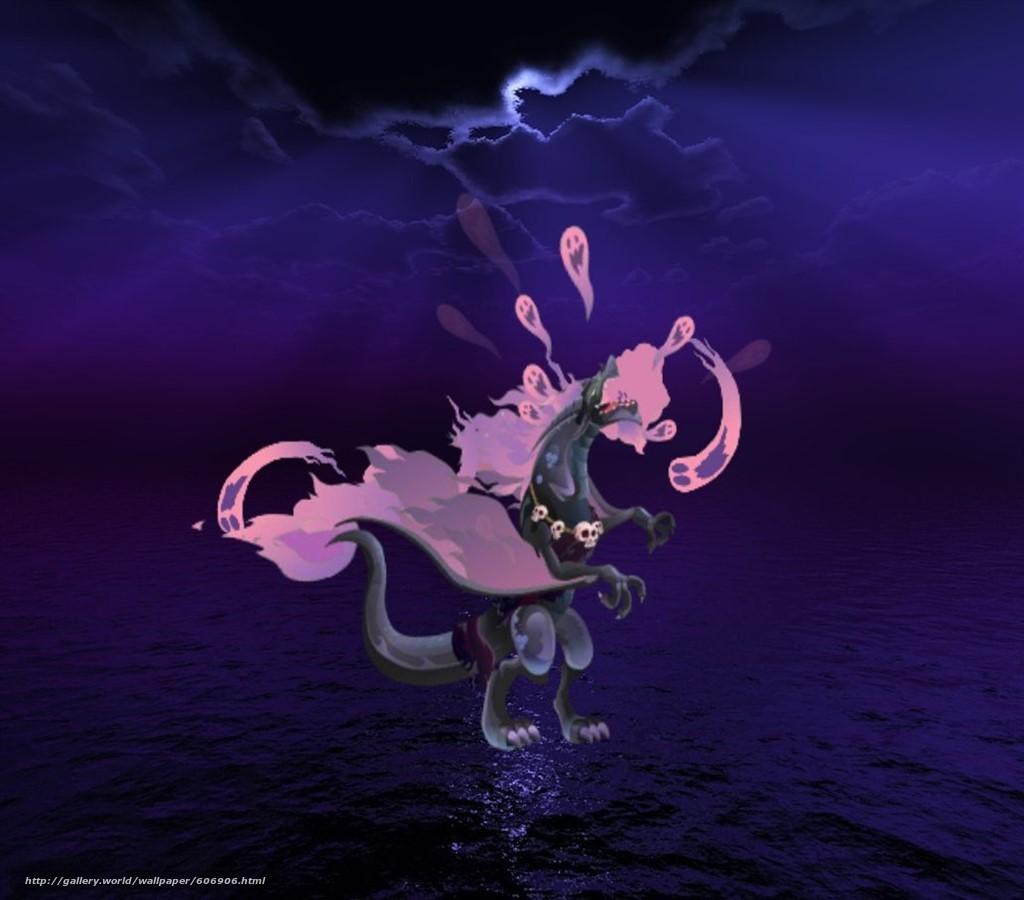 Hades, Dragon, Dark, Souls, Sea, Skuls, Хадес, Дракон, Тьма, Море, Череп