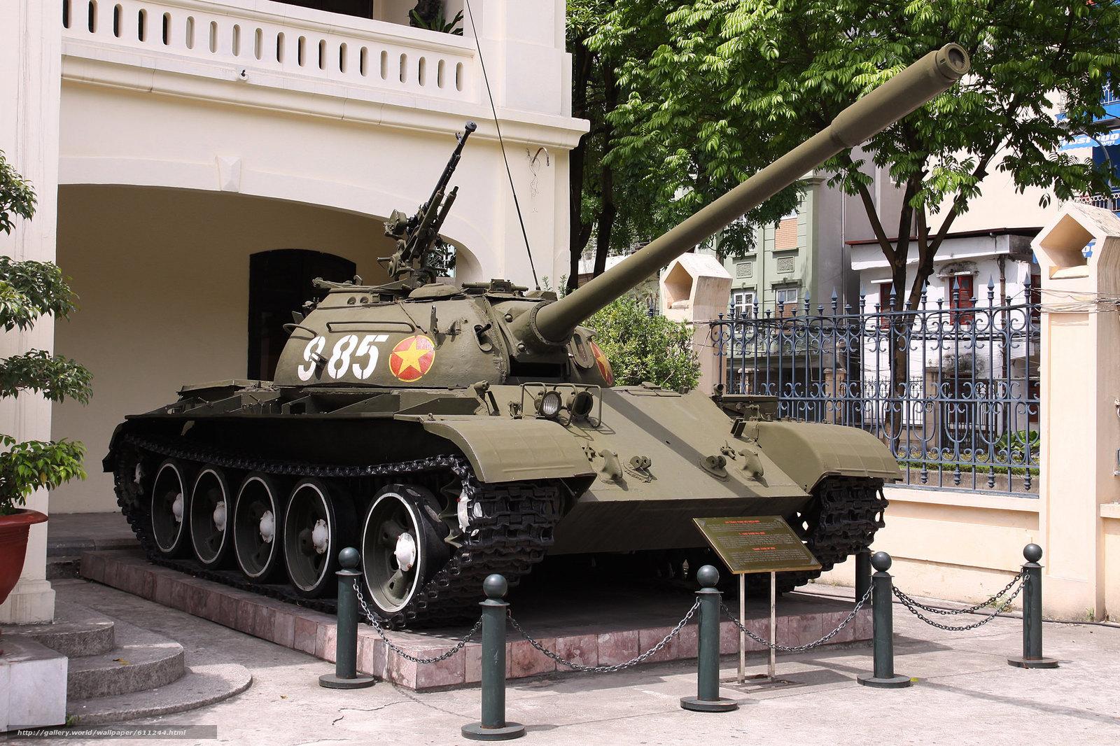 т-54б, советский, средний, танк, бронетехника, оружие, ссср, вьетнам