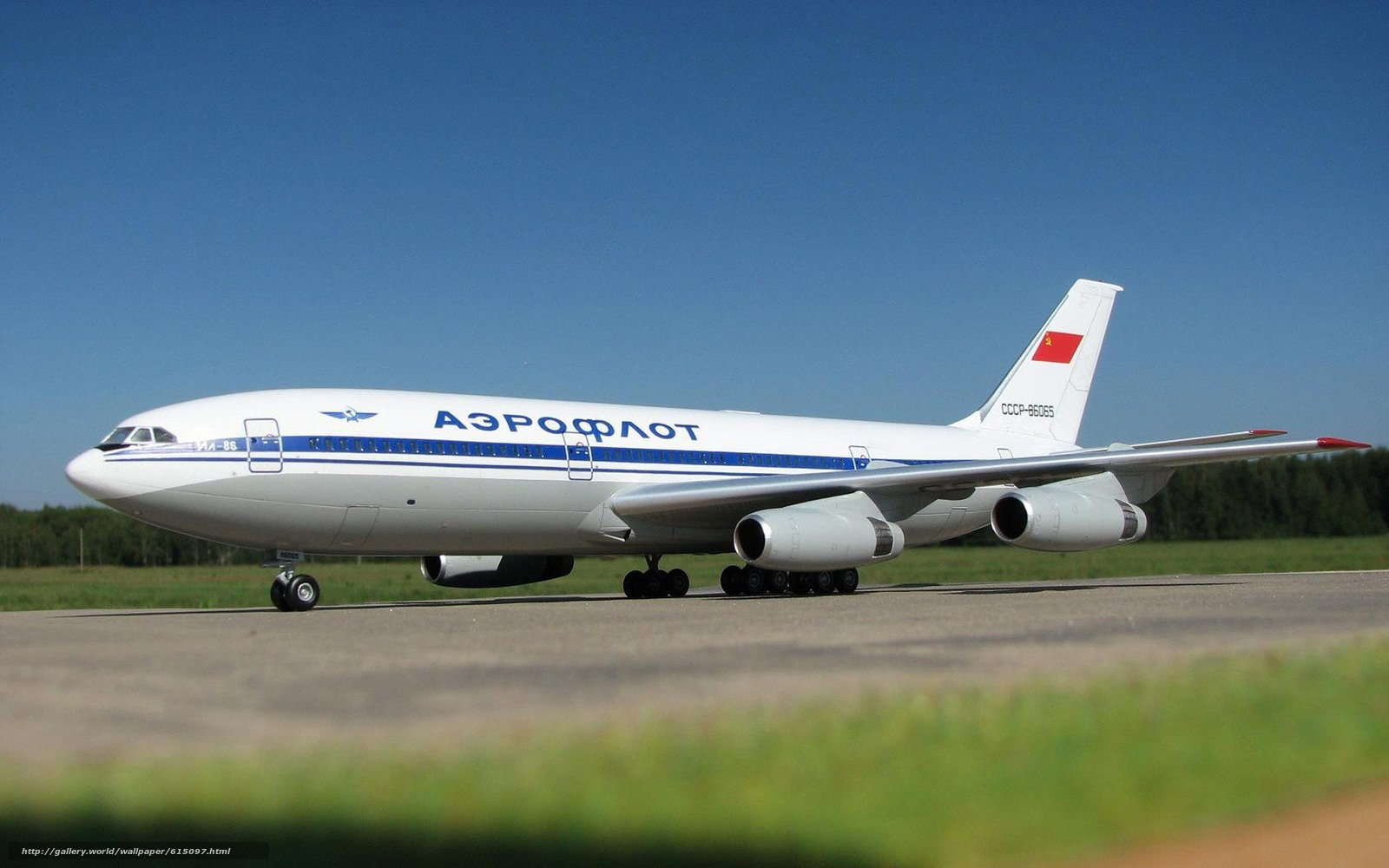 самолёт, ИЛ-86, Аэрофлот, СССР
