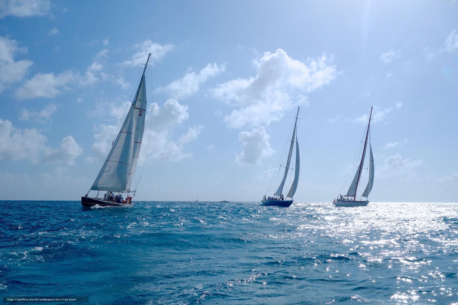 Sint Maarten, Caribbean Sea, Синт-Мартен, Карибское море, яхты, регата, море