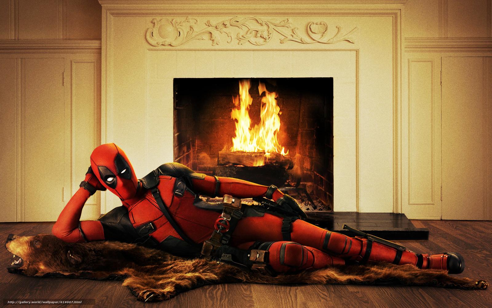 Скачать обои Ryan Reynolds, Deadpool, Movies бесплатно для рабочего стола разрешением 1920x1200 —  картинка № 619007