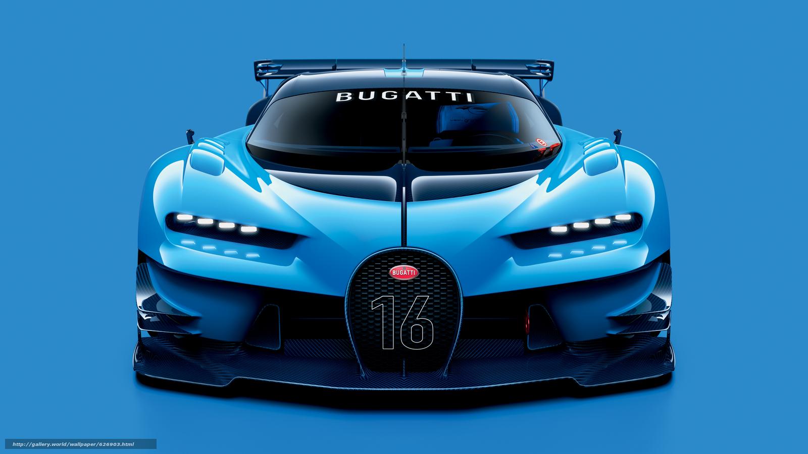 2015, Bugatti, Vision, Gran Turismo