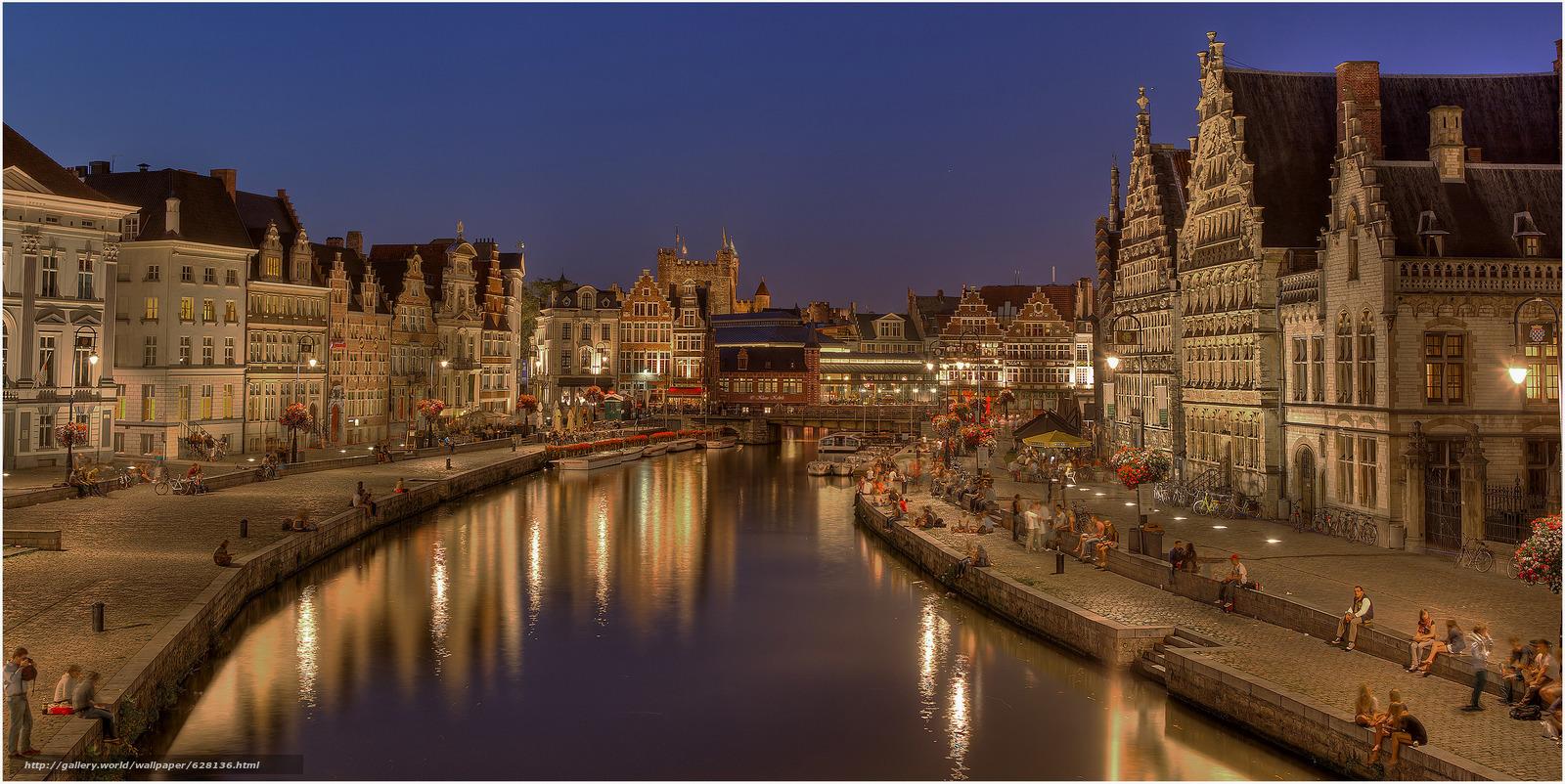 Гент, Gent, город во Фландрии, в Бельгии, Belgium