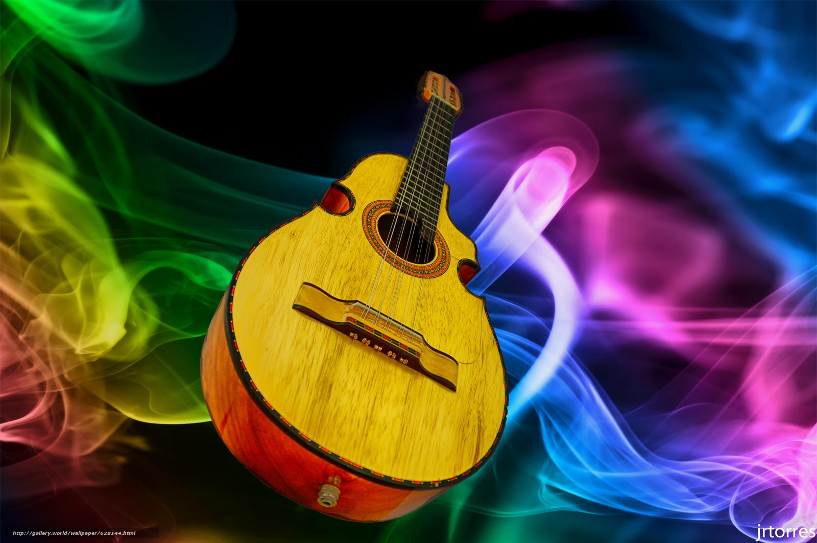 музыкальный, инструмент, гитара