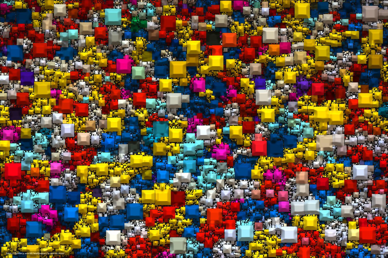 Palette, разноцветные, текстура