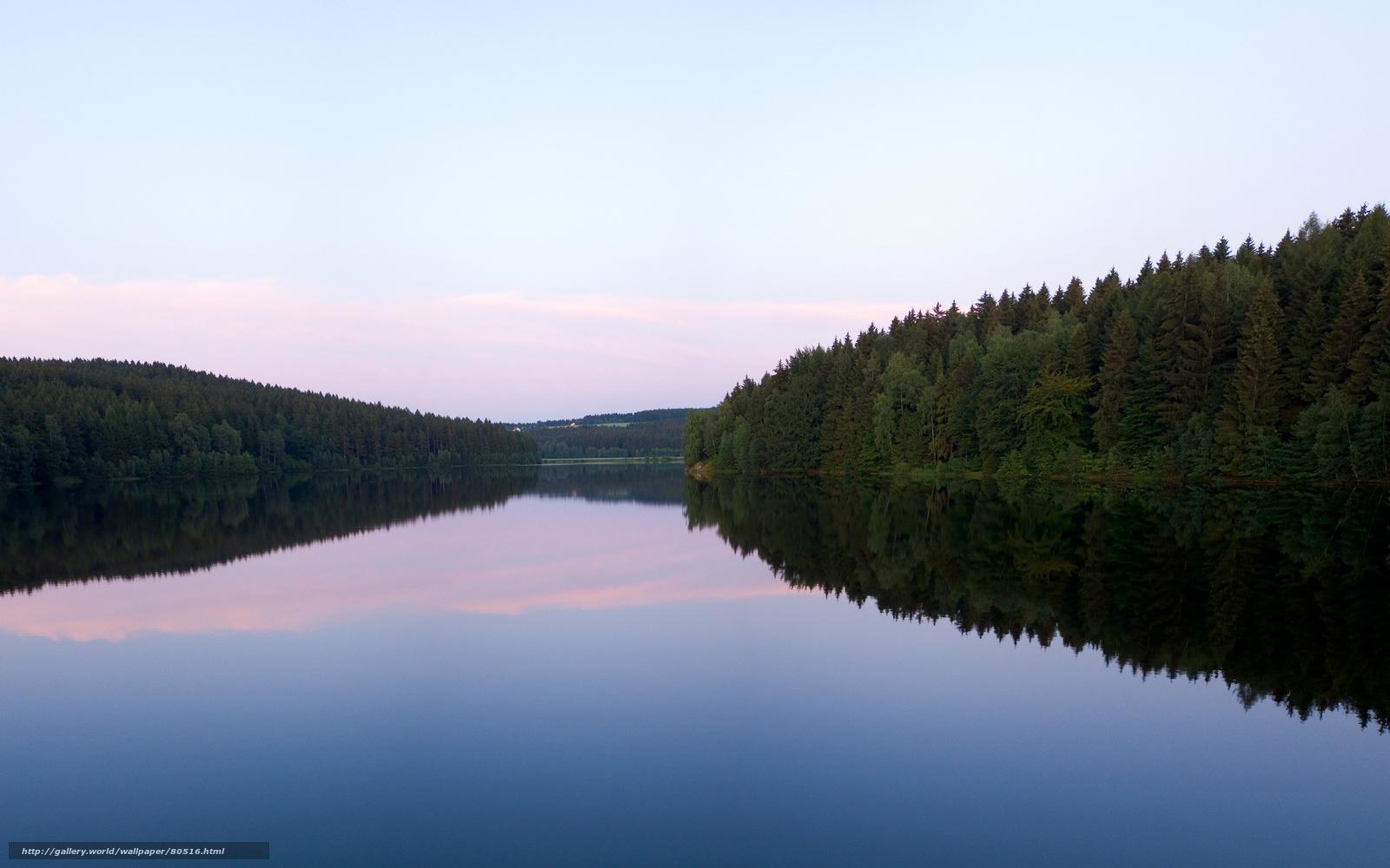 Река озёра реки вода обои небо