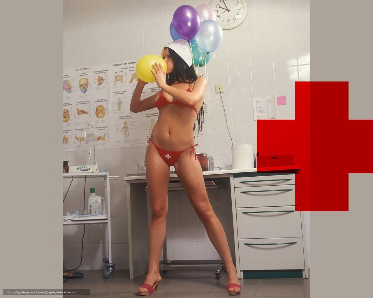 Фото двух медсестричек 24 фотография