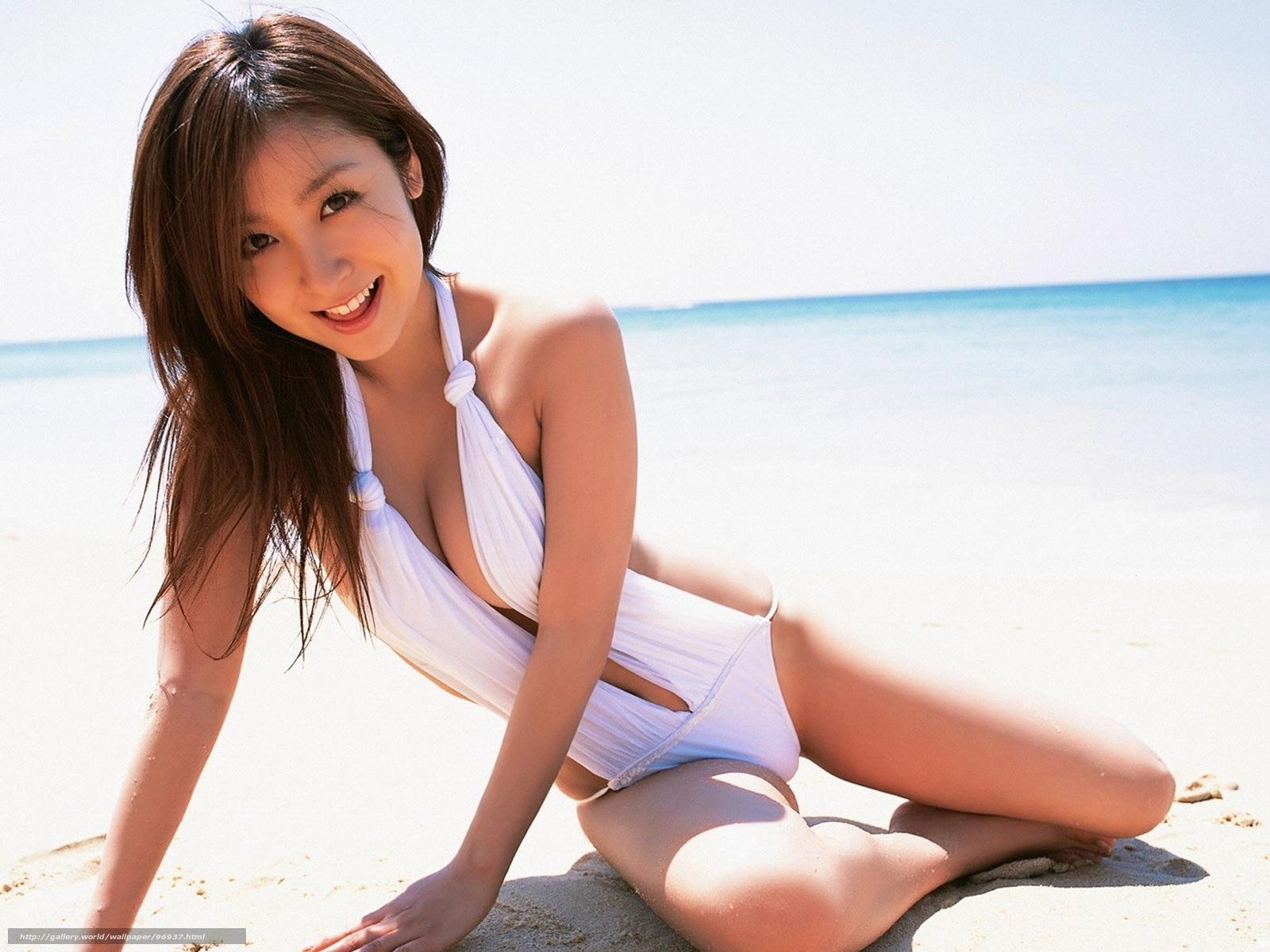 Фото азиаток в купальном костюме 25 фотография