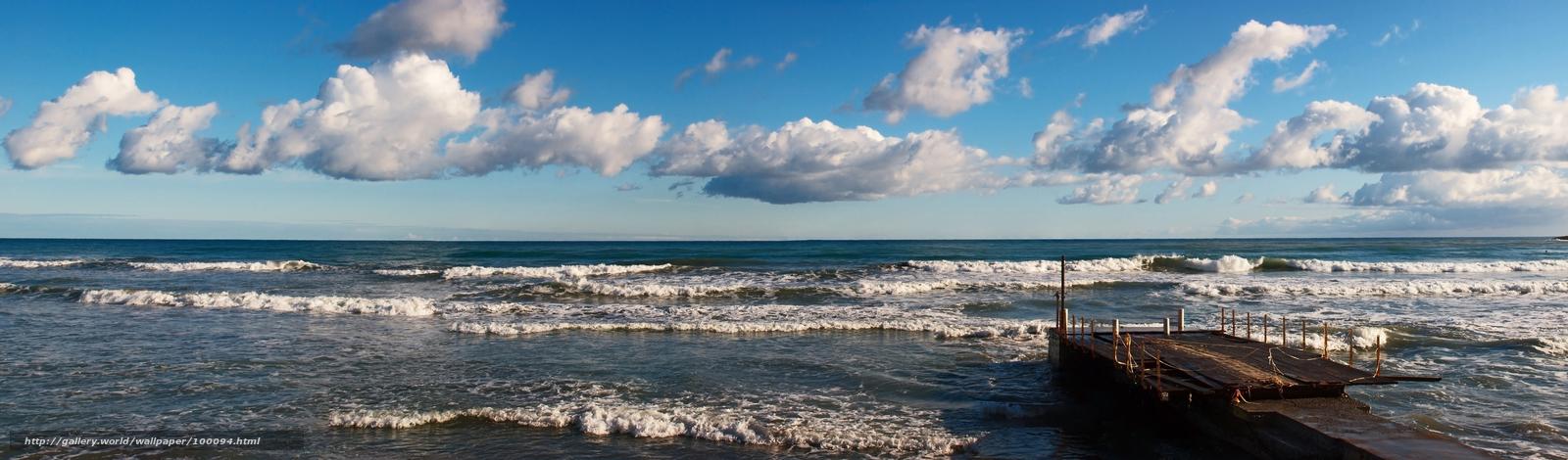 travel sea wallpaper panorama - photo #24