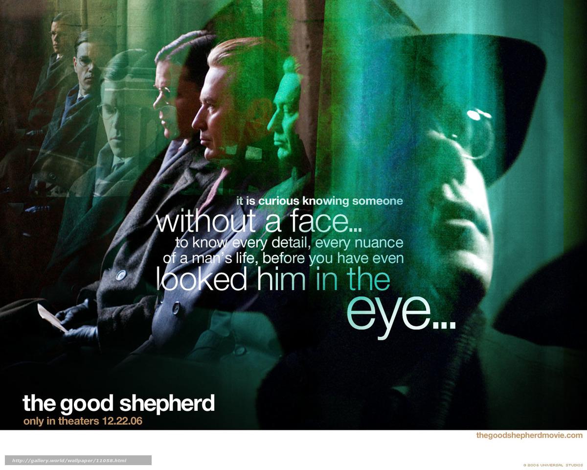 Download wallpaper The Good Shepherd, The Good Shepherd ... Matt Damon