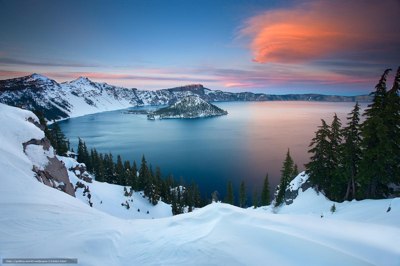 Tlcharger Fond d'ecran hiver, lac, neige, Montagnes Fonds d'ecran gratuits pour votre rsolution ...