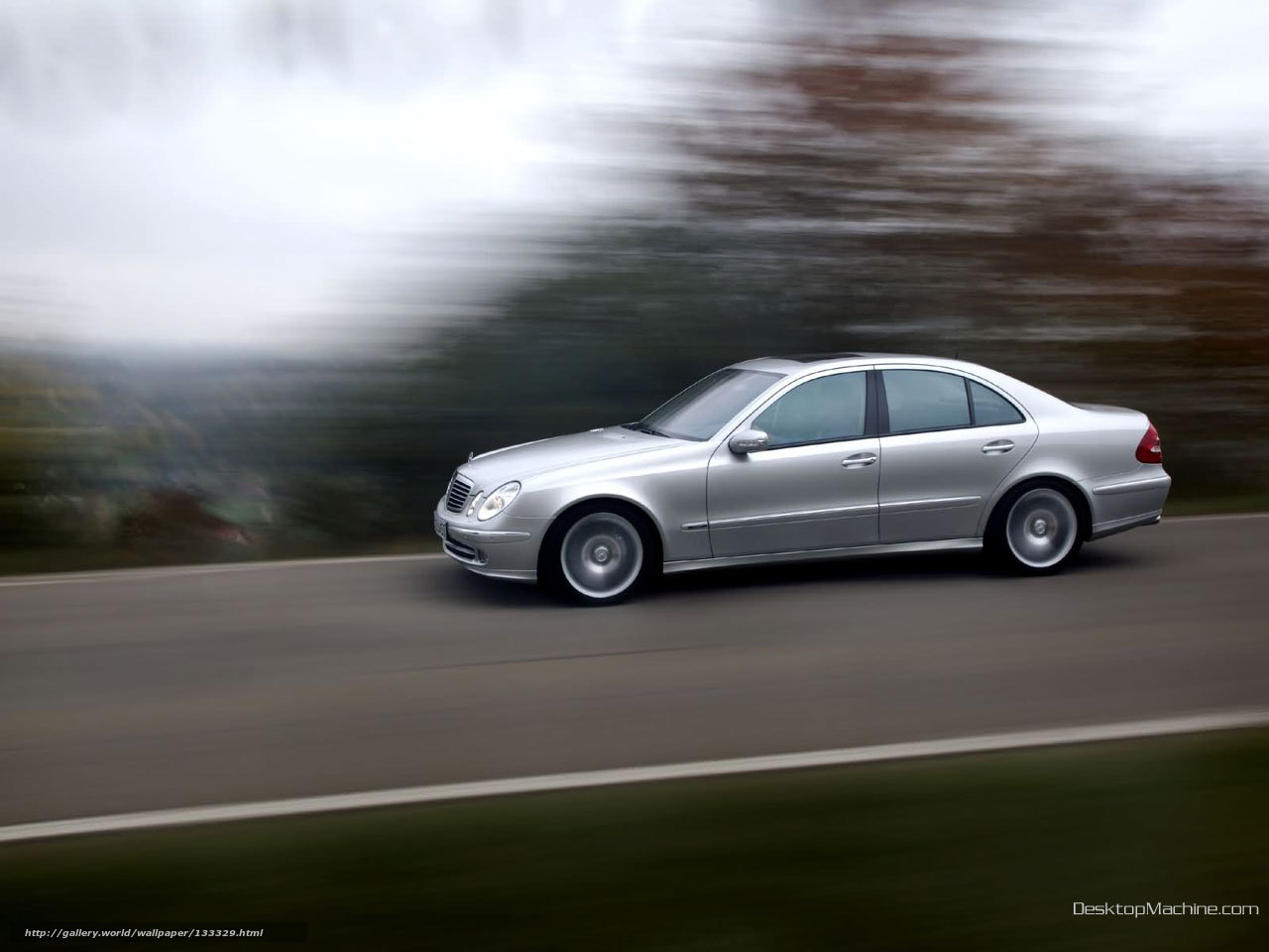 Download Wallpaper Mercedes Benz E Class Car Machinery