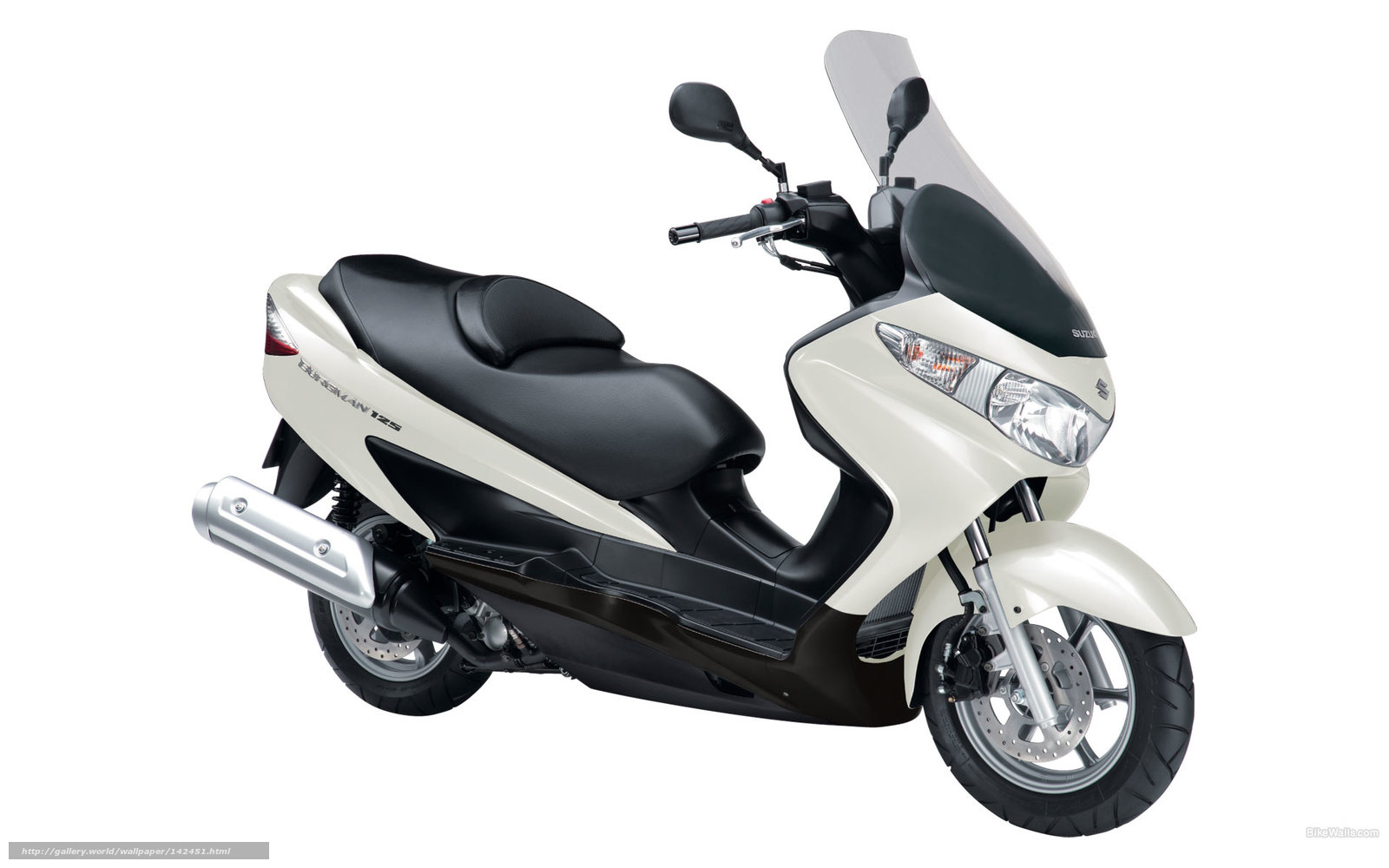download wallpaper suzuki scooter moped burgman 125. Black Bedroom Furniture Sets. Home Design Ideas