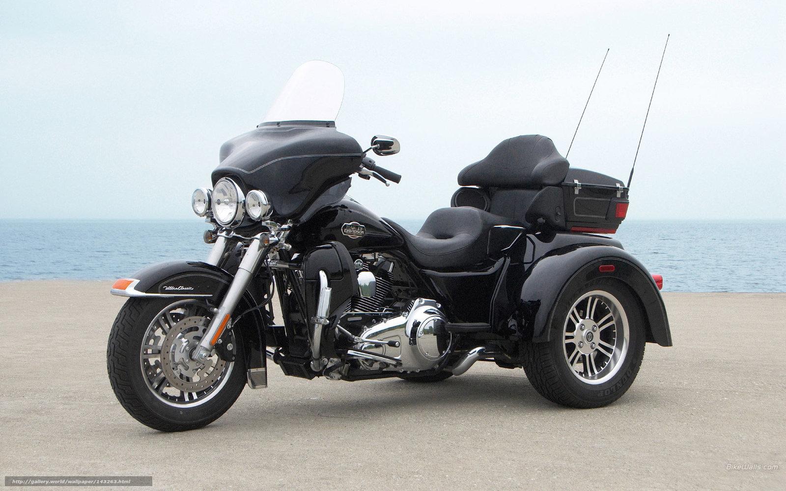 Harley-Davidson, Tri Gilde, Tri Glide Ultra Classic, Tri Glide Ultra