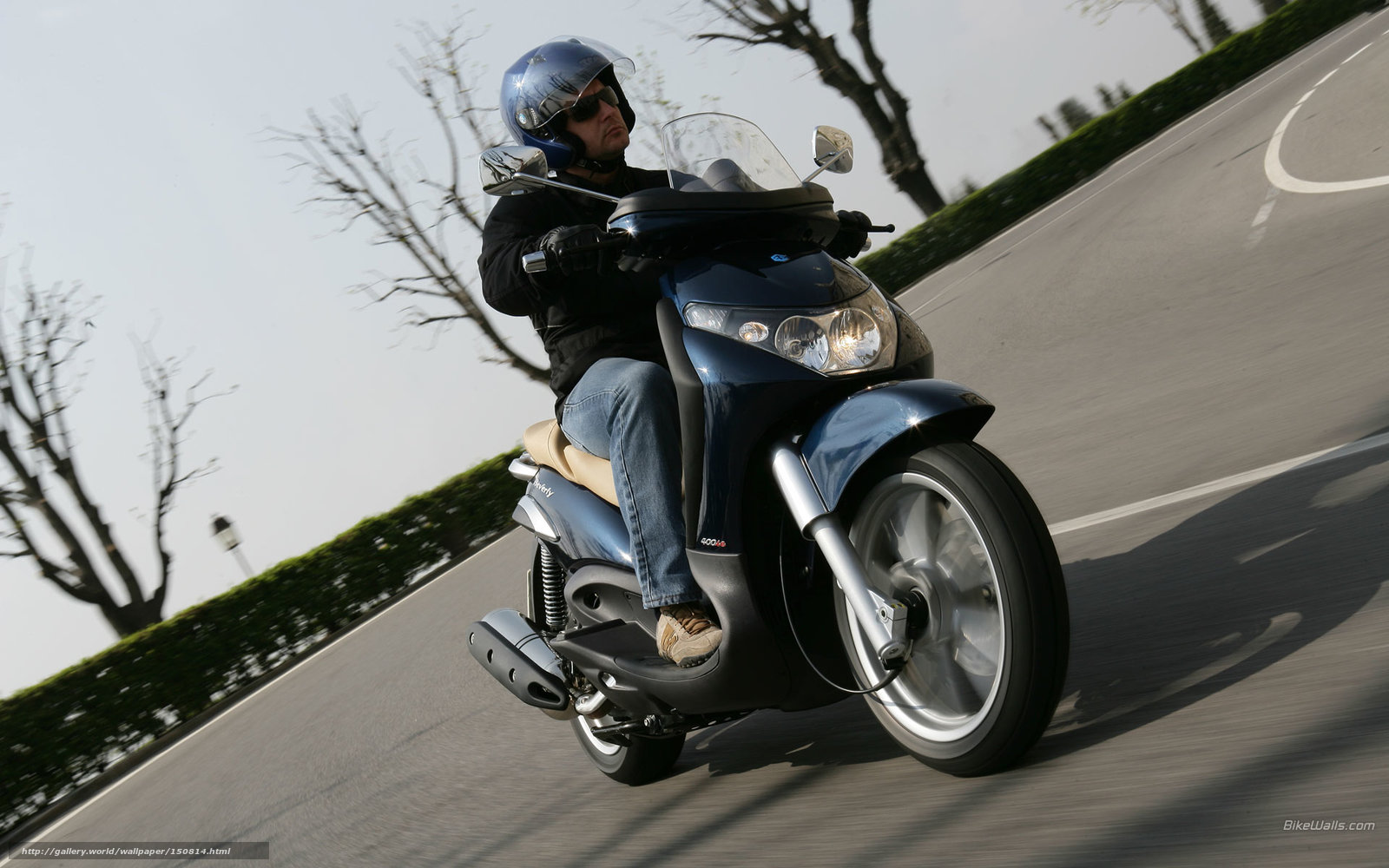 Download Wallpaper Piaggio, Beverly, Beverly 400ie