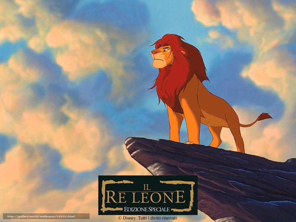 scaricare gli sfondi Il Re Leone, Il Re Leone, film, film