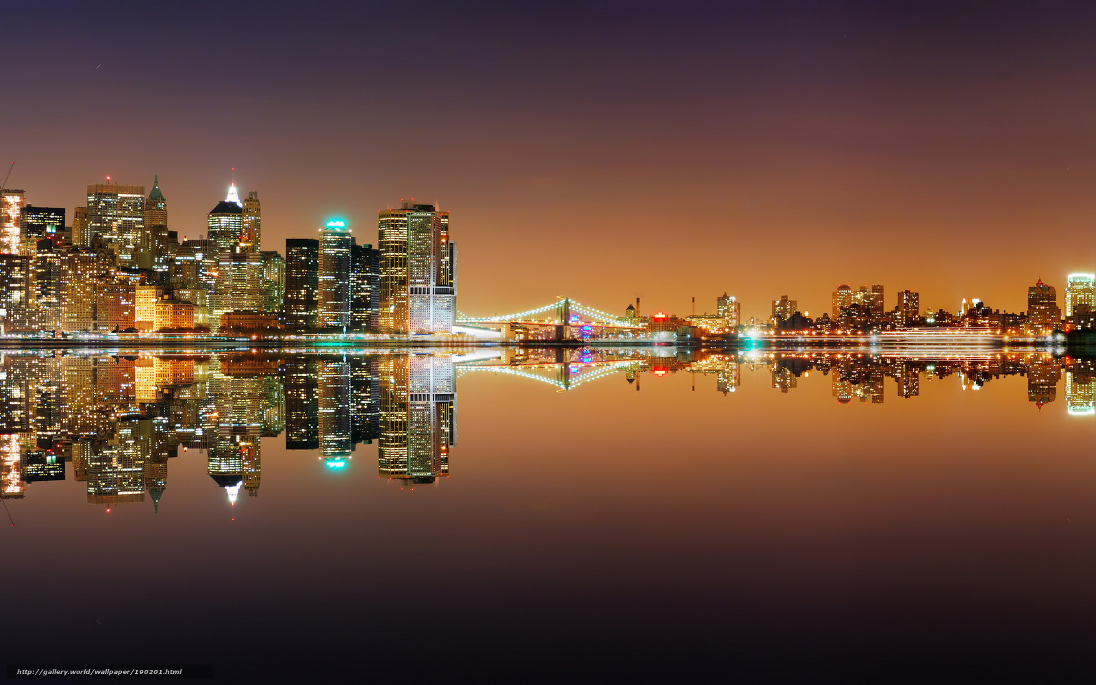 Download Wallpaper City New York America Place Free