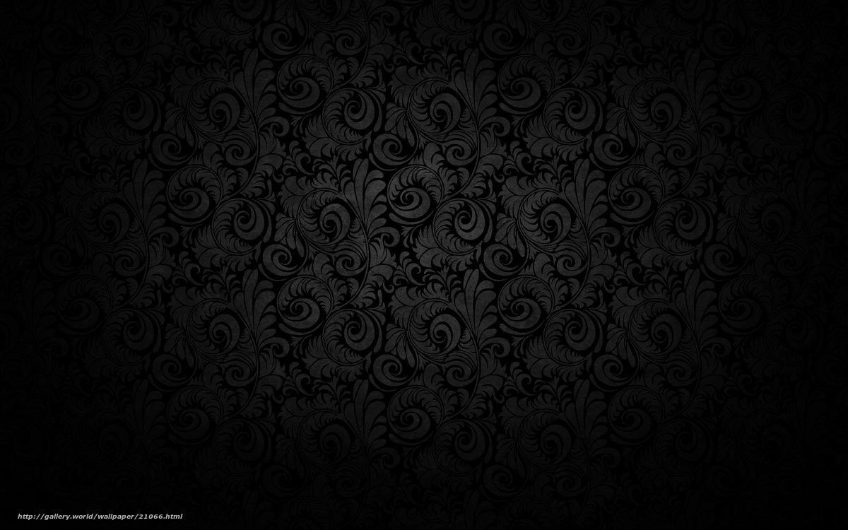 Schwarze Tapeten Mit Muster : Black Pattern