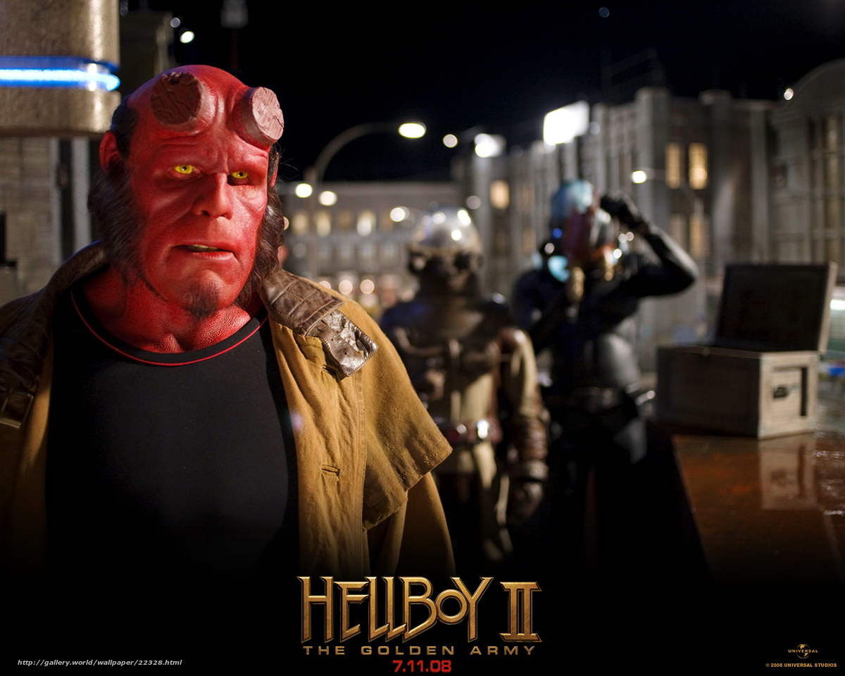 Обои хеллбой ii золотая армия hellboy ii