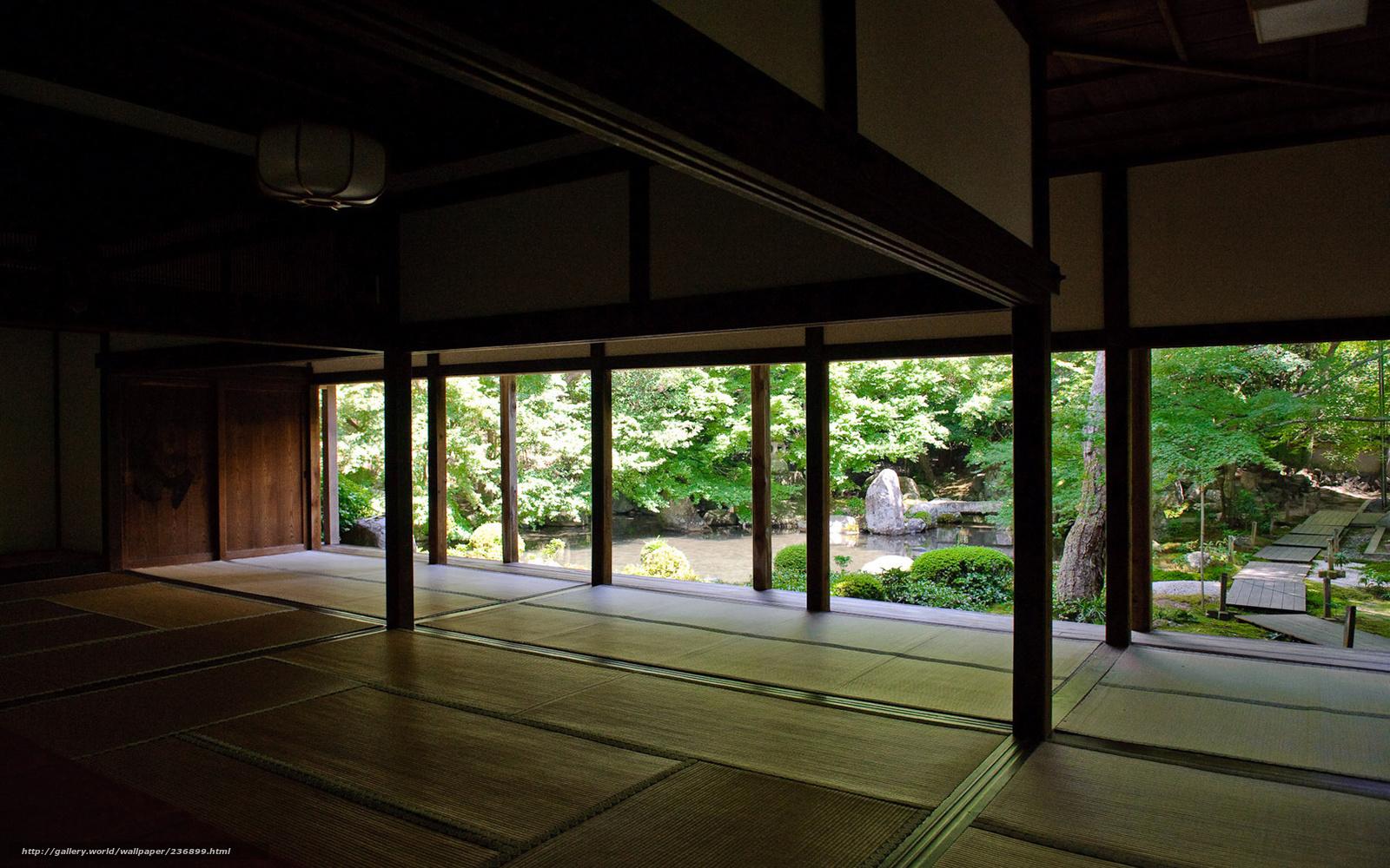 Tlcharger Fond decran maison, Japon, Mats, jardin Fonds decran ...