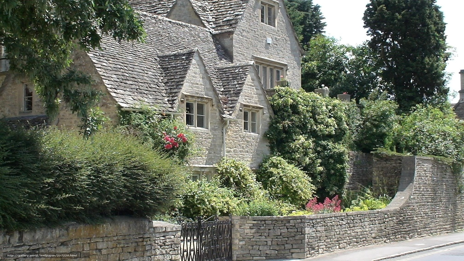 Download wallpaper England, village, cottage free desktop ...