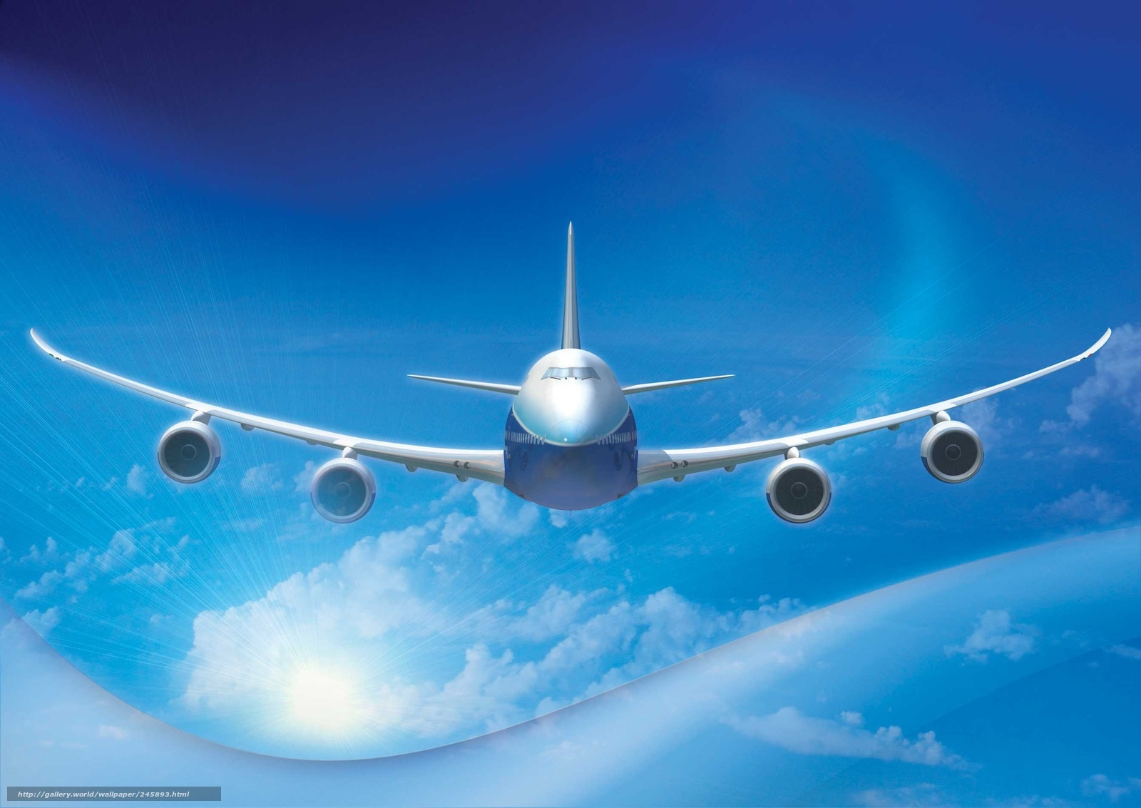 boeing 747 wallpaper widescreen