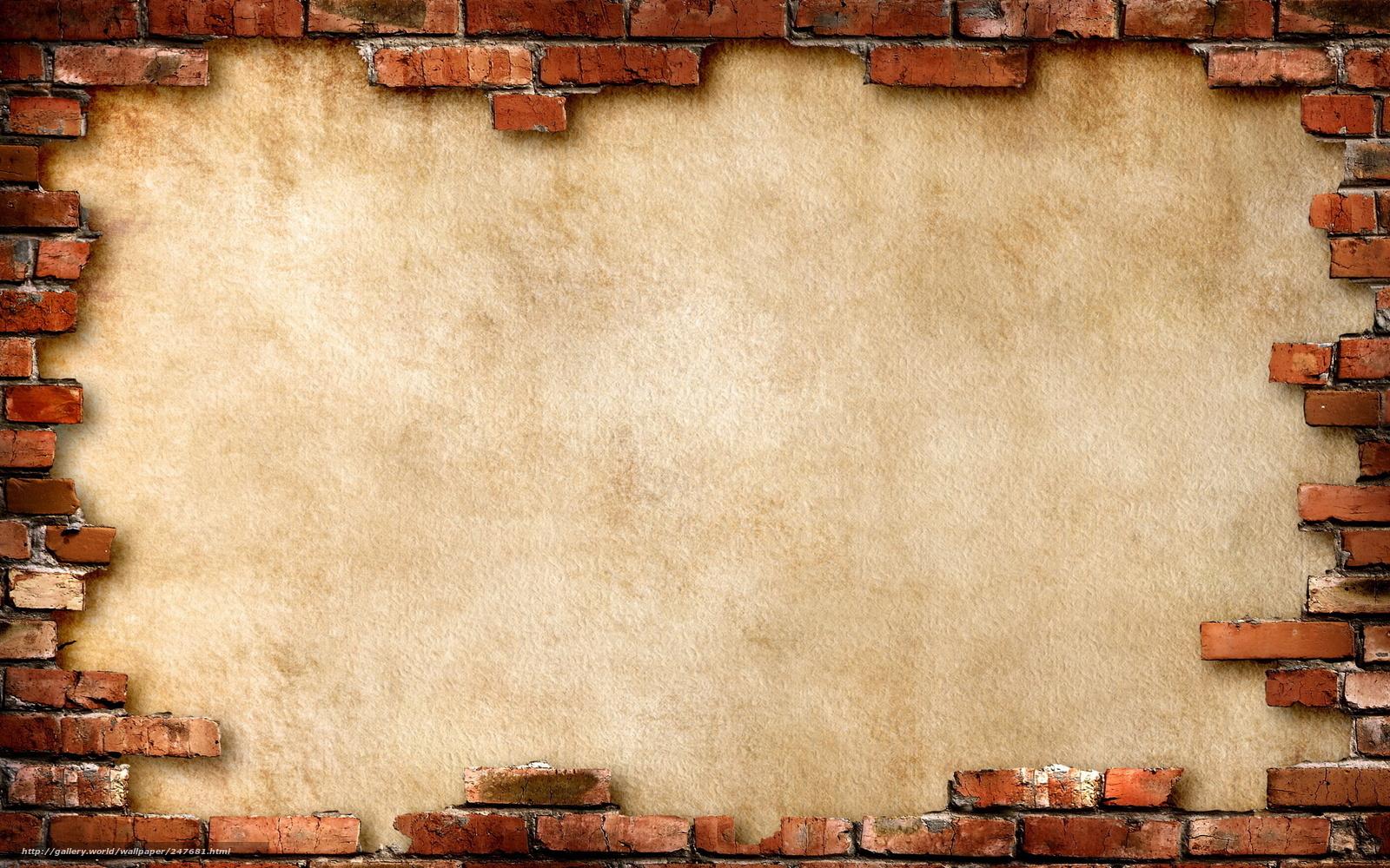 Descargar gratis pared ladrillo ruinas fondos de - Quitar gotele de la pared ...